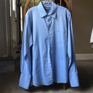 Apt. 9 blue button down